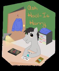 Ask haul it harry