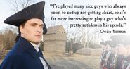 Owain Yeoman quote 2