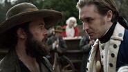 Benjamin Tallmadge gives Caleb Brewster orders