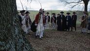 George Washington at John André's hanging