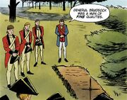 George Washington's speaks about Edward Braddock
