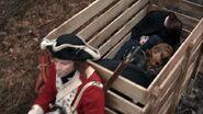 Abraham Woodhull taken captive by Cyrus