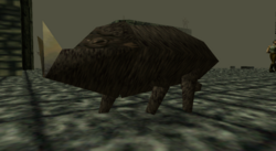 Turok Dinosaur Hunter - Enemies - Wild Boar - 002