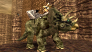 Turok Dinosaur Hunter Enemies - Triceratops (6)