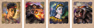 Turok Rage Wars Art - Portraits