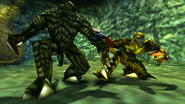 Turok 2 Seeds of Evil Enemies - Endtrail - Dinosoid (45)