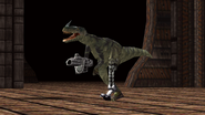 Turok Dinosaur Hunter Enemies - Mech Raptor (2)