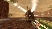 Turok Dinosaur Hunter Weapons - Quad Rocket Launcher (19)