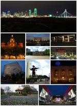 Dallas Collage Montage