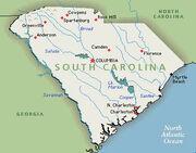 South-carolinamap