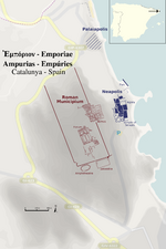 Empúries Map-1-