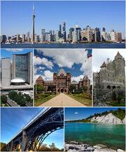 Montage of Toronto 7-1-