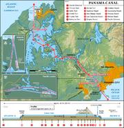 Panama Canal Map EN-1-