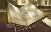 Gutenberg Bible, Lenox Copy, New York Public Library, 2009. Pic 01-2-