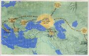 Bulgar subsequent migrations in Europe-1-