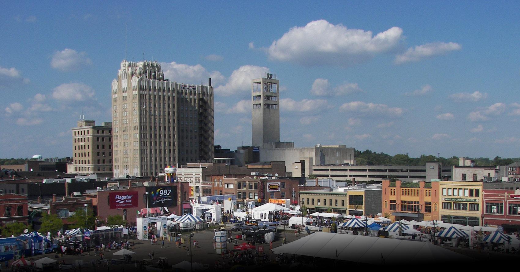 Image result for city pontiac michigan