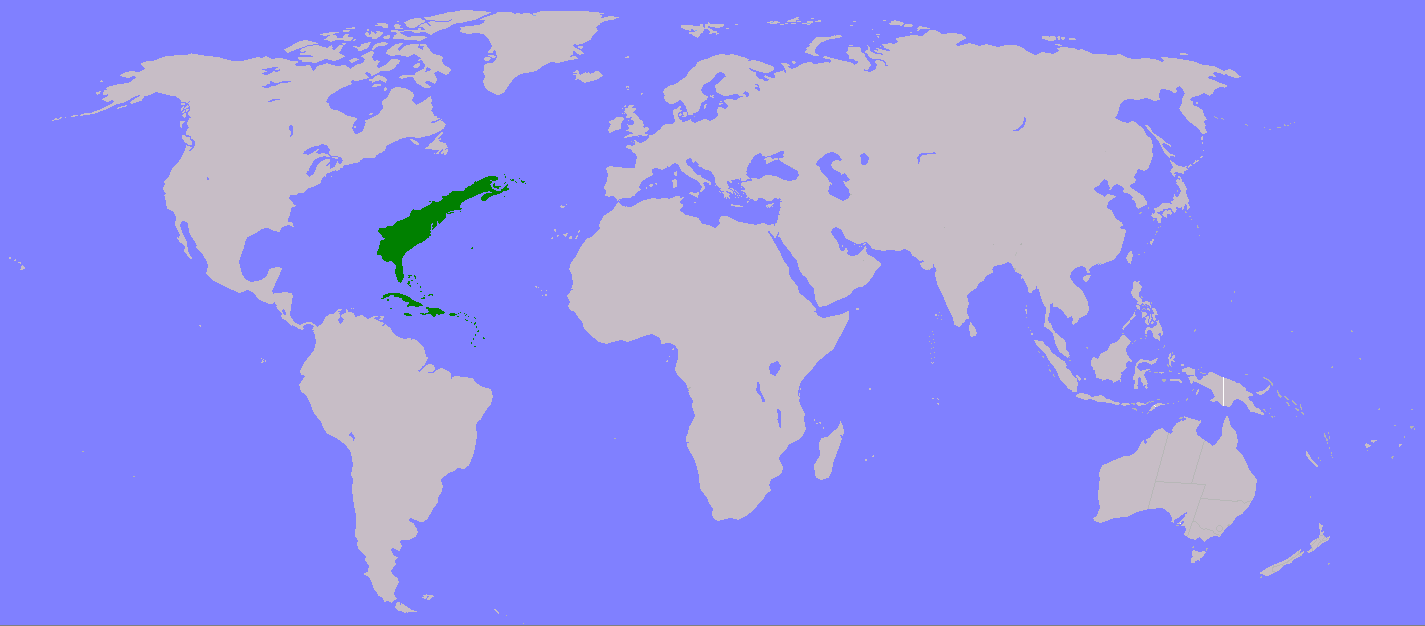 Atlantis Turtledove Fandom Powered By Wikia - Map of the united states continents