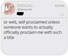 Selfproclaimed2edited