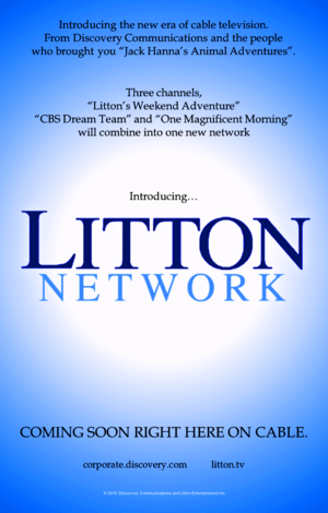 Litton Network print ad