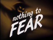 Nothing To Fear-Title
