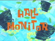 Hall Monitor title page