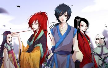 01 main characters