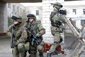 Polish Soldiers Urban Training