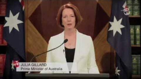 PM Julia Gillard Addresses the End of the World
