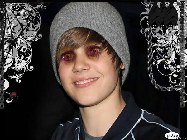 Zombie Justin Bieber hahahahahahaha lol
