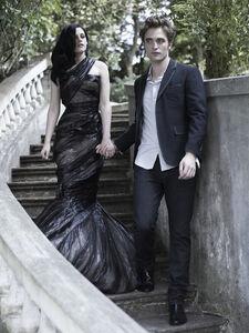 Robert Pattinson and Kristin Stewart in Bazaar (14)