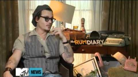 Johnny Depp Calls His 'Dark Shadows' Vampire 'Classic' - TRD Press Junket