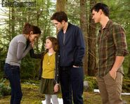Renesmee Using Her gift with her mother