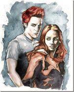 Edward and Bella by TerryBlas