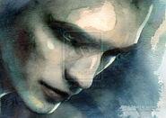Edward Cullen by AuroraInk
