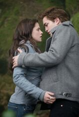 Bella and Edward in Twilight