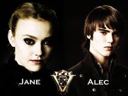 Jane and Alec Volturi