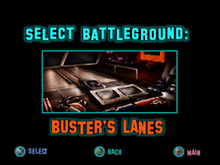 Twisted Metal - Small Brawl - Busters Lanes