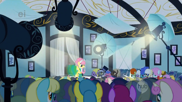 File:757px-GIYC113 Fluttershy on the catwalk.png