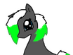 Ebony Pony Styled