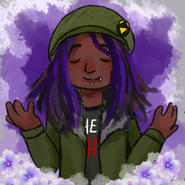 Purple Woolie