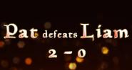 DIVEKICK Pat Defeats Liam