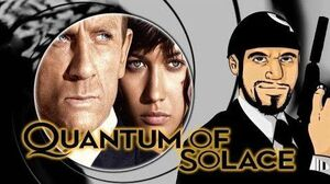Quantum of Solace Title