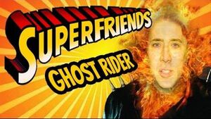 Superfriends Ghost Rider