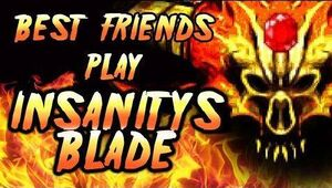 Insanity's Blade Title