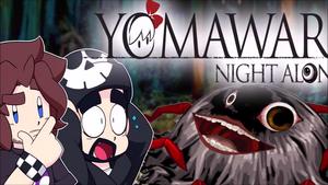 Yomawari Title