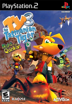 Ty the Tasmanian Tiger 3 - Night of the Quinkan Coverart