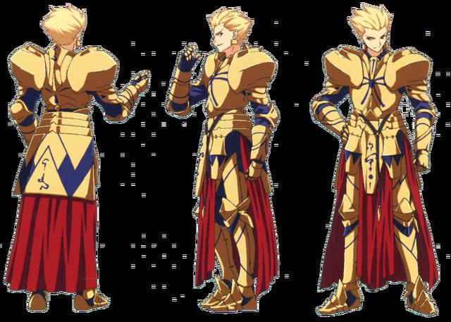 File:Gilgamesh ufotable Fate Zero Character Sheet 1.png