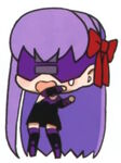 Chibi sakura fright