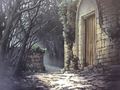 Einzbern forrest abandoned house exterior.png