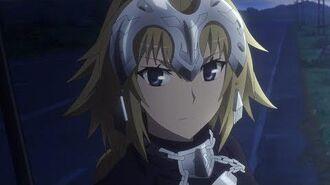 TVアニメ「Fate Apocrypha」テーマ別CM①「ルーラー」編